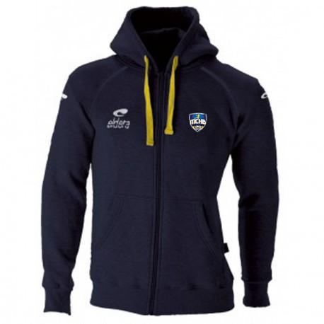Veste BATLEBOA Marine (cordon jaune) + Logo club