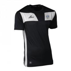 Tee-Shirt 10NAMIK Noir/Blanc + Logo club