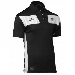 Polo 10NAMIK Noir/Blanc + Logo club